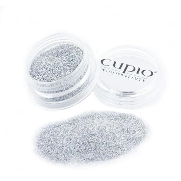 Cupio Fein Glitzer Silber