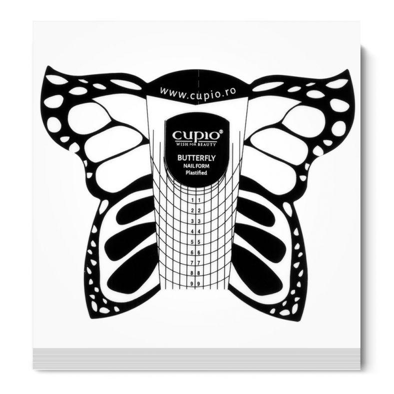 Cupio Schablonen plastifiziert - Schmetterling 50 Stk.