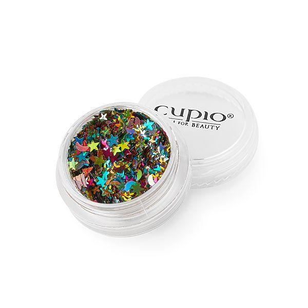 Cupio Pailletten Star Rainbow