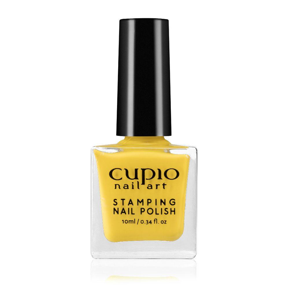 Stamping Nagellack - Gelb 10ml