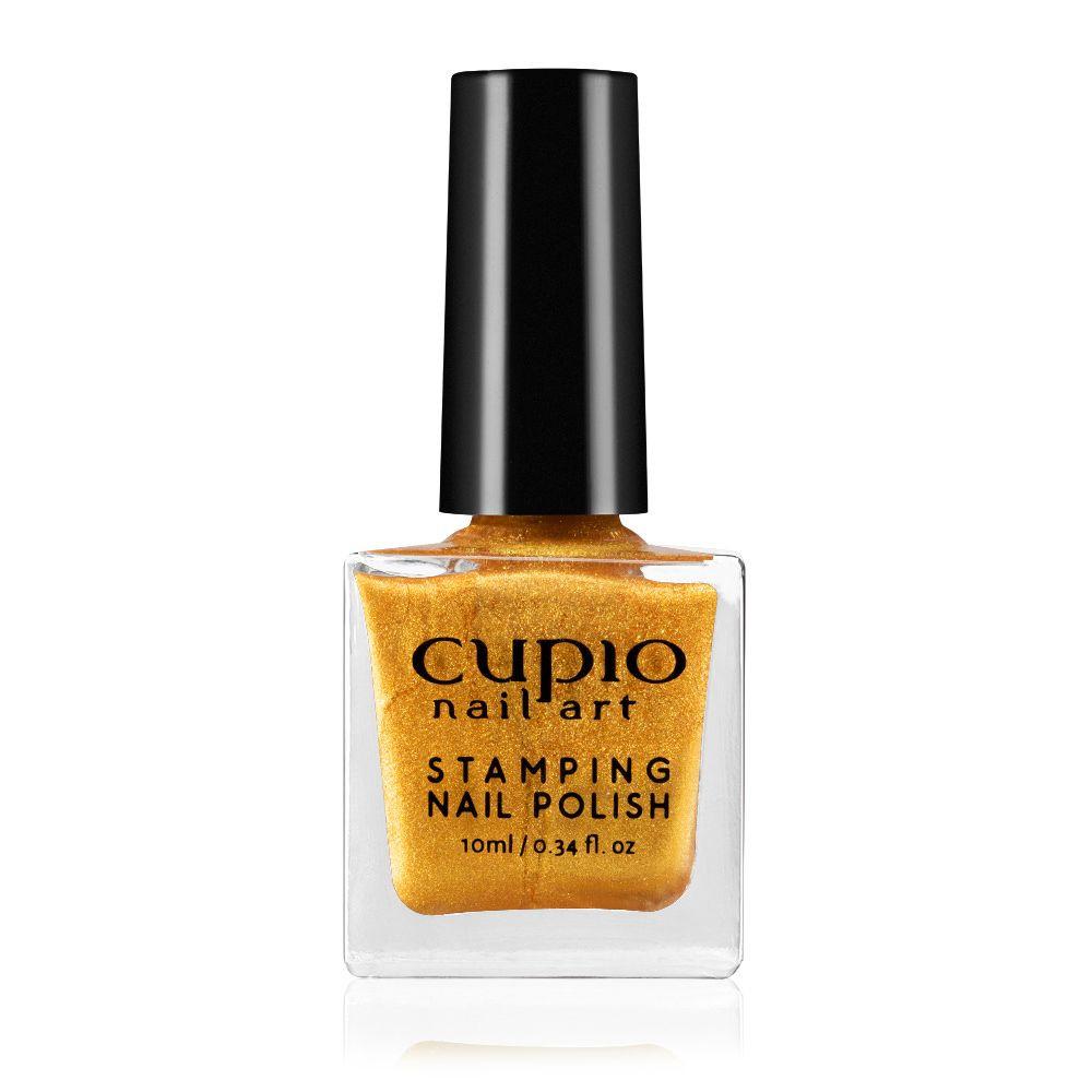 Stamping Nagellack - Gold