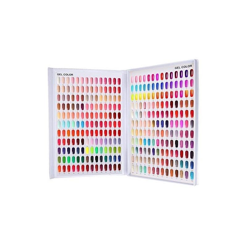 Gel Gellack Farben Display Katalog 308 Tips Farben