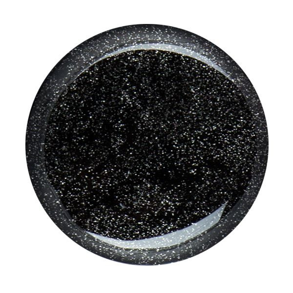 Cupio Glitzer Gel Black Silver