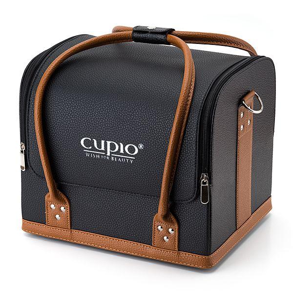 Cupio Kosmetik Schulter Tasche - Taupe