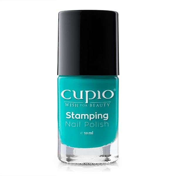 Cupio Stamping Lack - Turquoise 10 ml