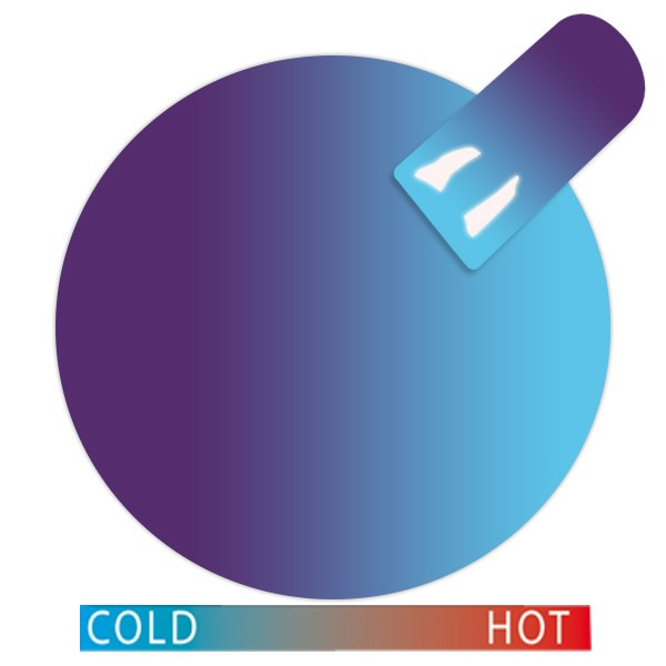 Cupio Thermo Gel Violet-Turquoise
