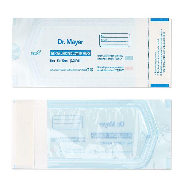Sterilisationsbeutel - selbstklebend Dr. Mayer 57x130 mm - 200er Set