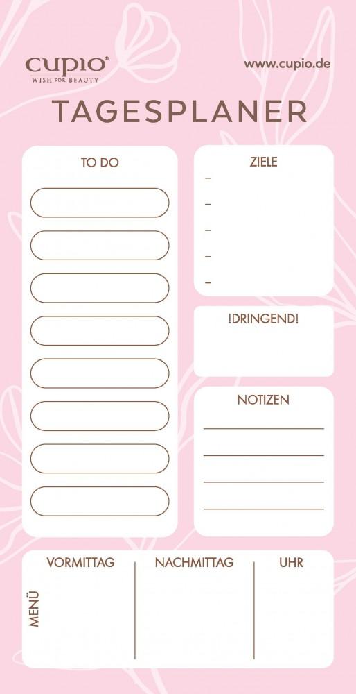 Cupio Schreibblock Notes Tagesplaner Notizzettel