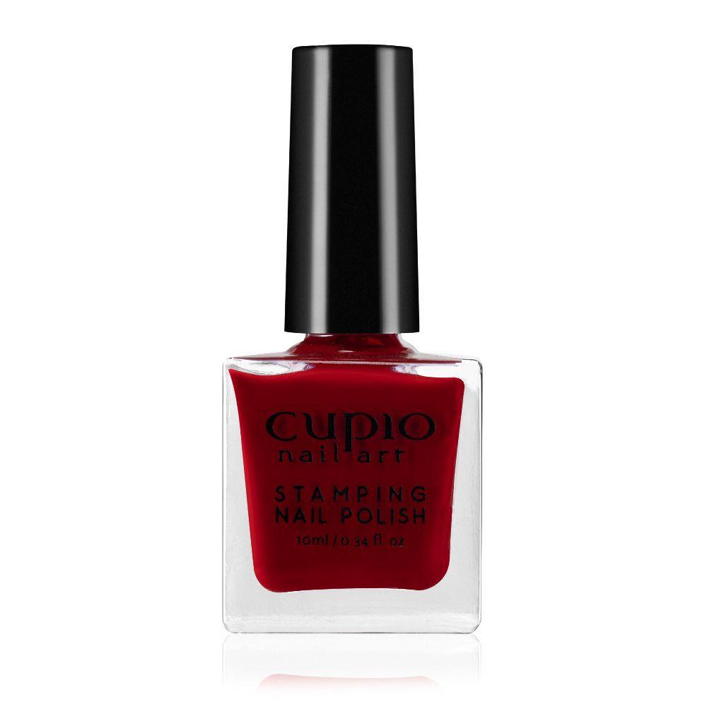Stamping Nagellack - Deep Red 10ml