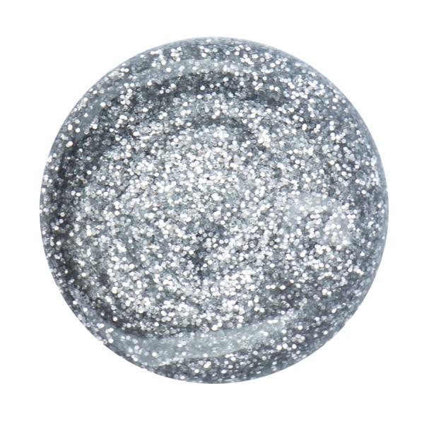 Cupio Glitzer Gel Mystic Silver