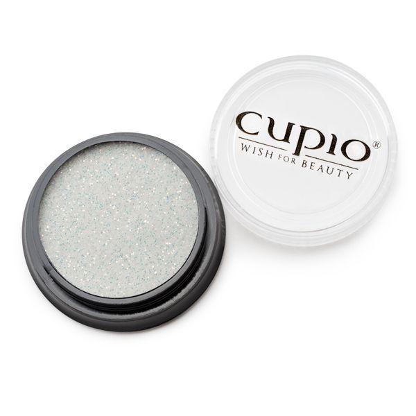 Cupio Premium Fein Glitzer Weißgold