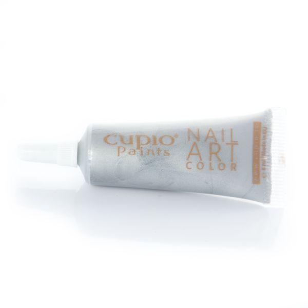 Cupio Paints - Acryl Farbe- Silber 8 ml