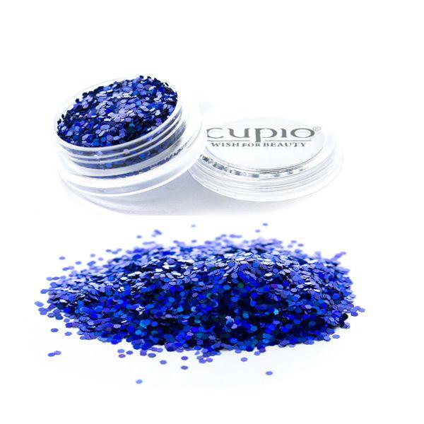 Cupio Pailletten Electric Blue