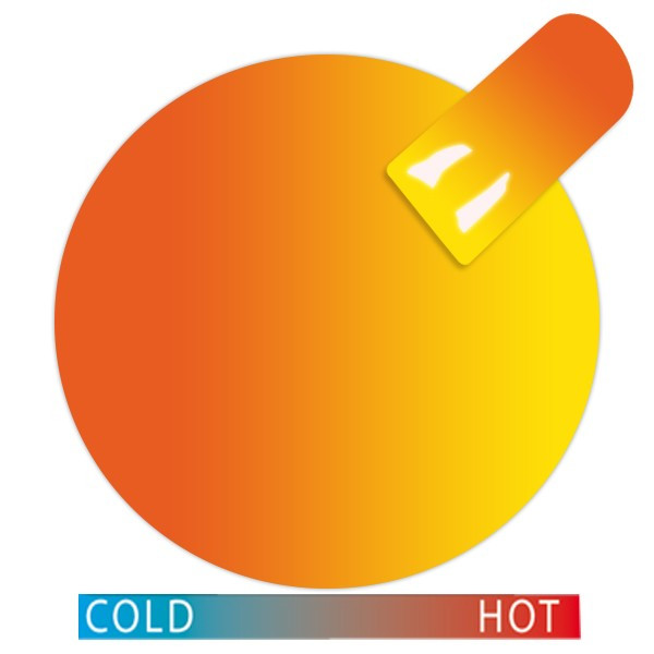 Cupio Thermo Gel Orange-Yellow