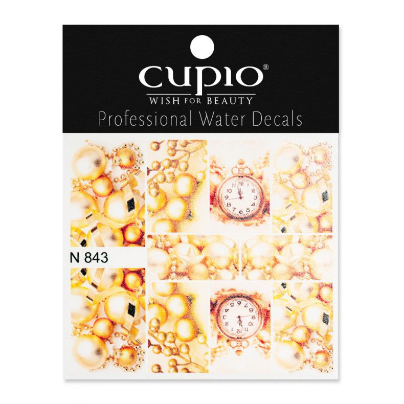 Cupio Winter Nail Art Tattoo N843