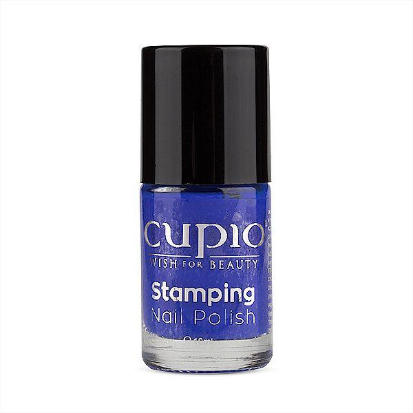 Cupio Stamping Lack - Royal Blue 10 ml