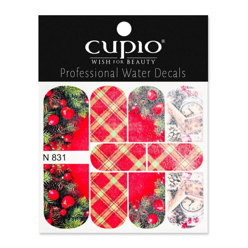 Cupio Winter Nail Art Tattoo N831