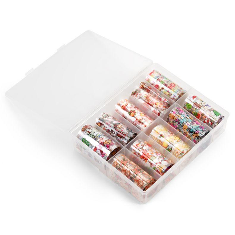 Cupio Christmas Transfer Folie 10er Pack - Multicolor #02