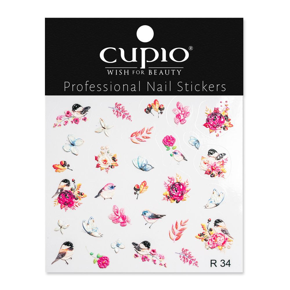 Cupio 3D Nail Art Sticker R34