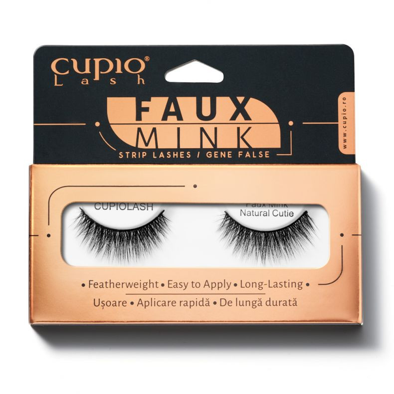 Wimpern Cupio Faux Mink - Natural Cutie