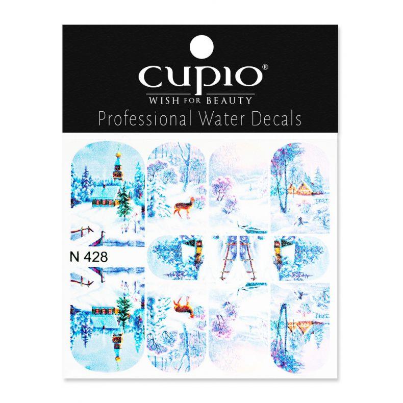 Cupio Winter Nail Art Tattoo N428