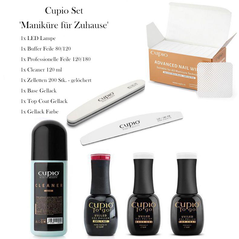 Cupio Set - Maniküre für Zuhause