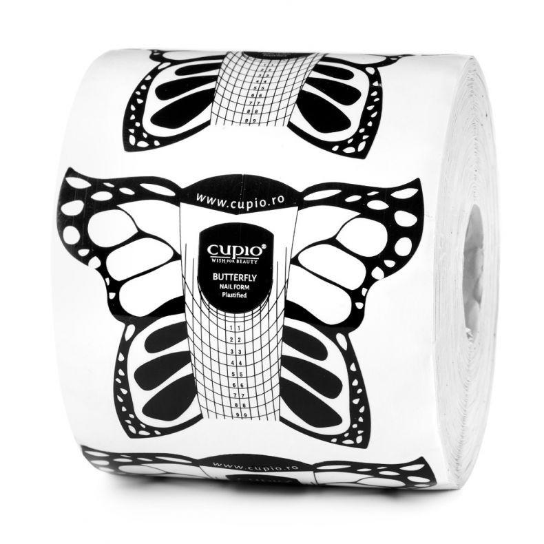 Cupio Schablonen plastifiziert - Schmetterling 500 Stk.