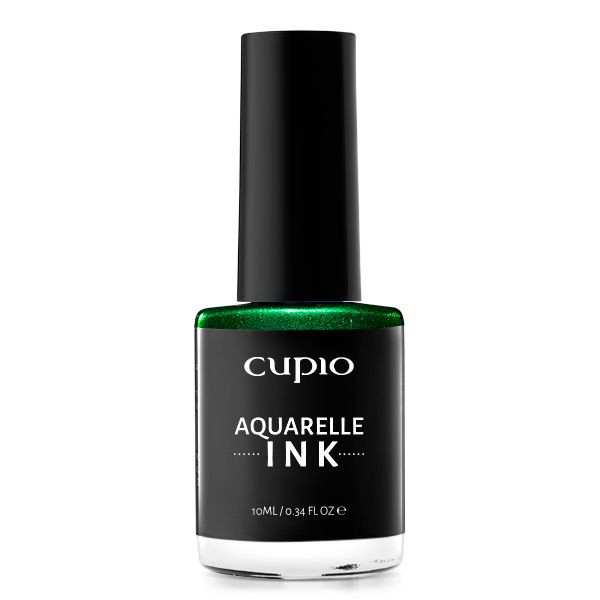 Cupio INK Aquarelle - Metallic Green