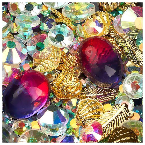 Ornamente, Kristalle und Metallische Formen #05