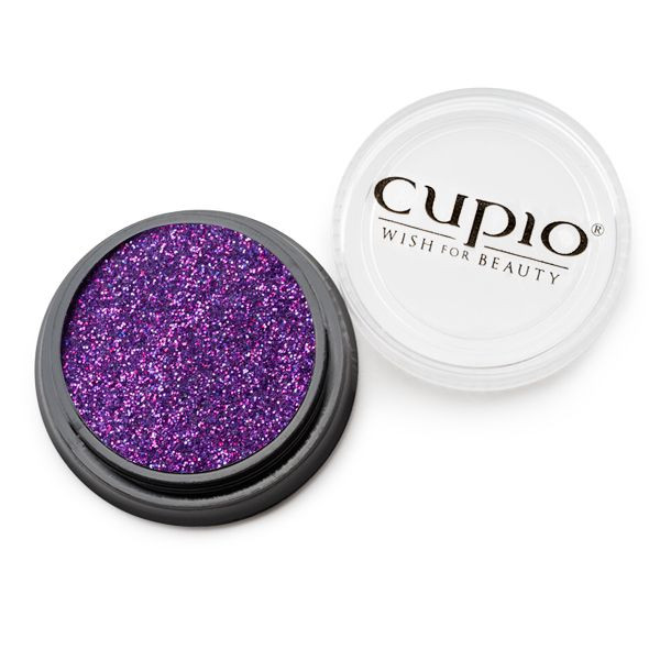 Cupio Premium Holo Glitzer Violet