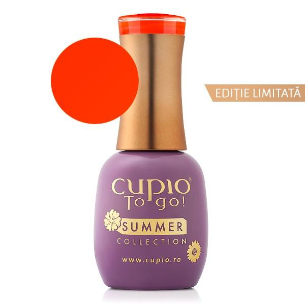 Cupio Gellack Summer Collection Orange Wave 15 ml
