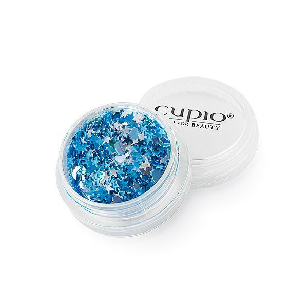 Cupio Pailletten Star Blue
