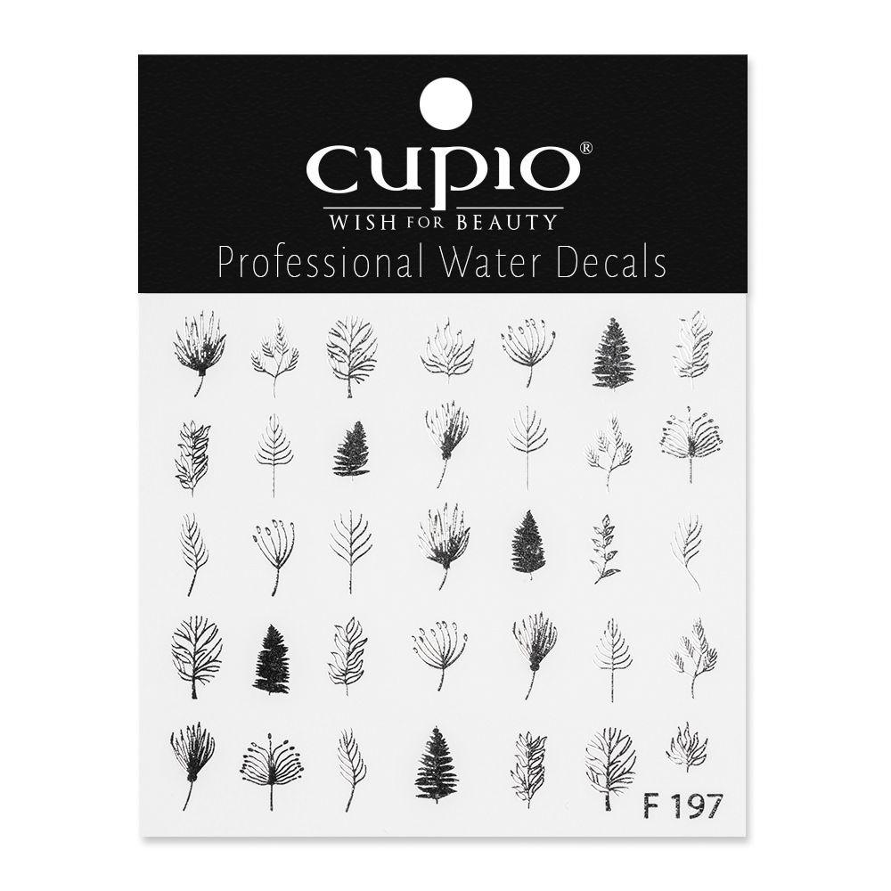 Cupio Nail Art Tattoo F197 Silver