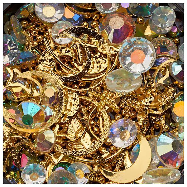 Ornamente mix margele, cristale si forme geometrice #28
