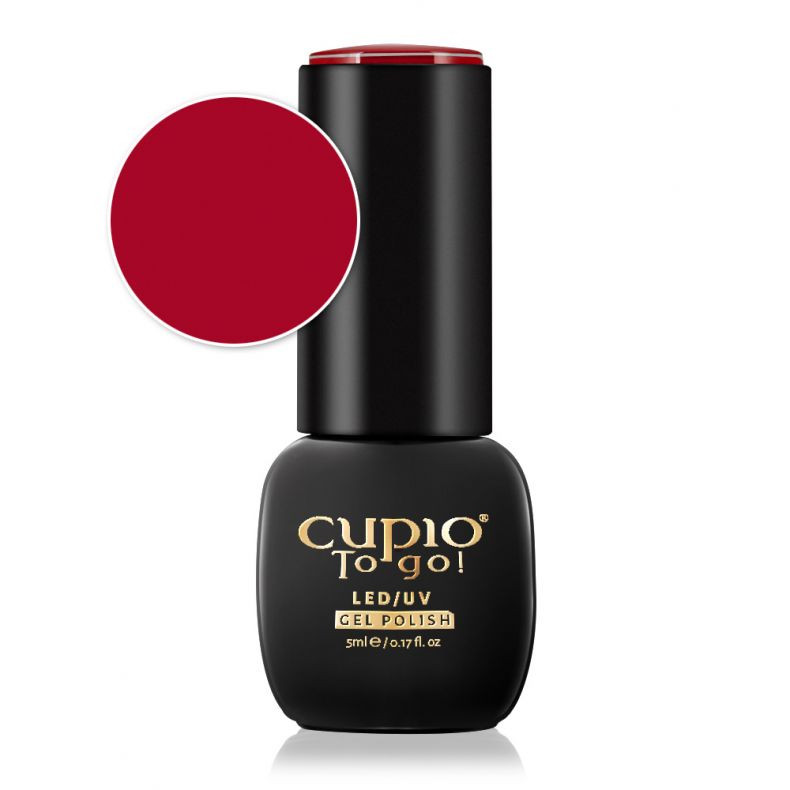 Cupio Gellack Baby Hot Red 5 ml