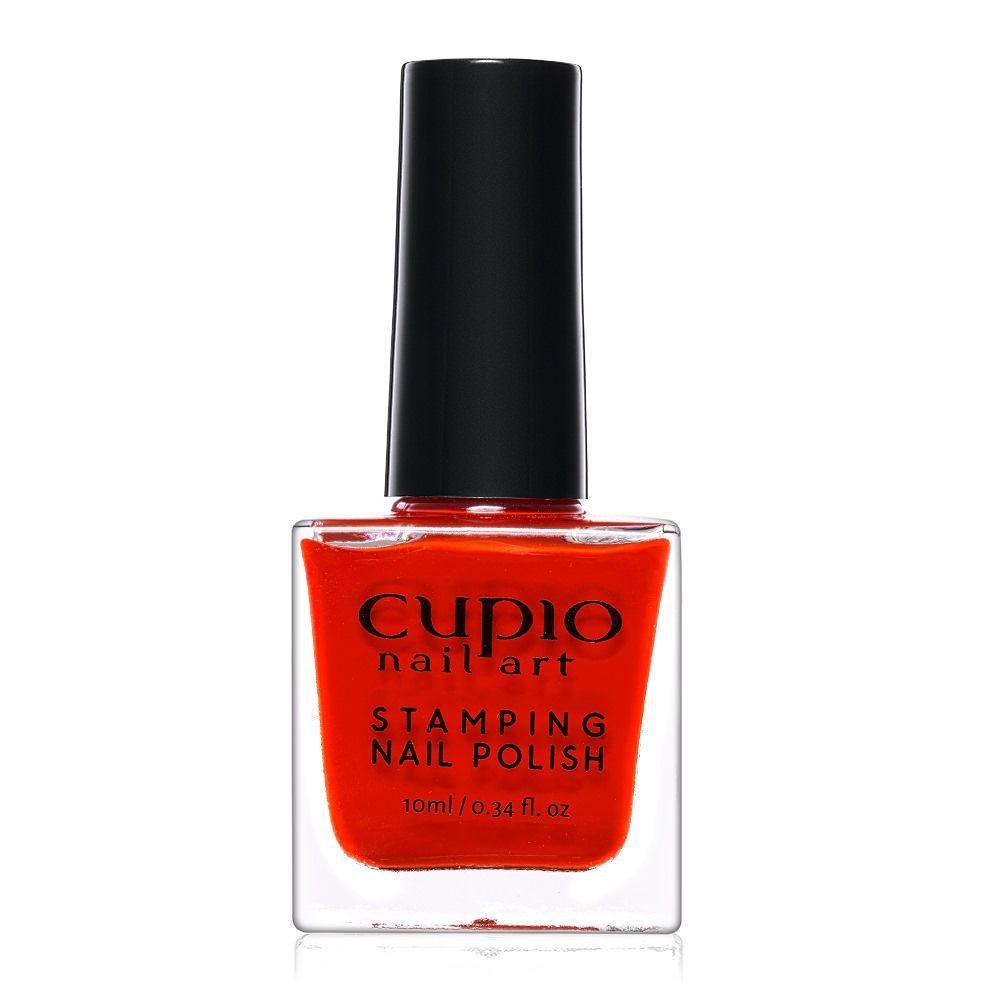Stamping Nagellack - Red 10 ml
