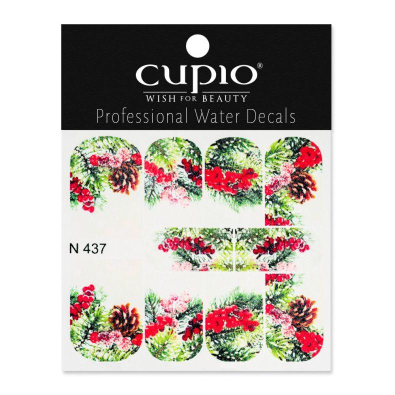 Cupio Winter Nail Art Tattoo N437