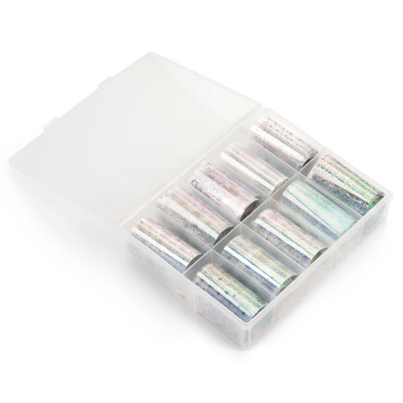 Cupio Christmas Transfer Folie 10er Pack - Silver
