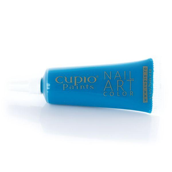 Cupio Paints - Acryl Farbe - Hell Blau 8 ml