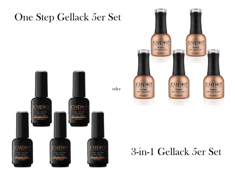 Cupio Gellack 5er Set - 3-in-1