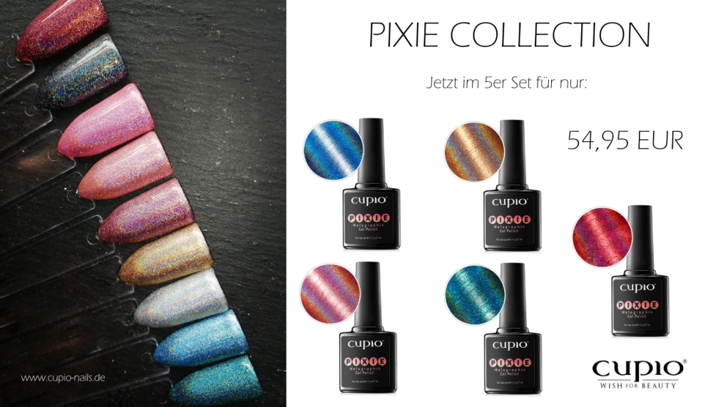 Cupio Pixie Collection 5er Set