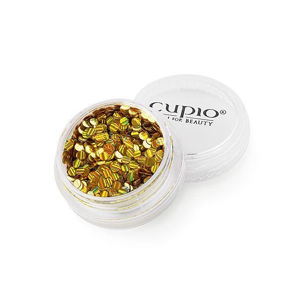 Cupio Pailletten Holo Gold