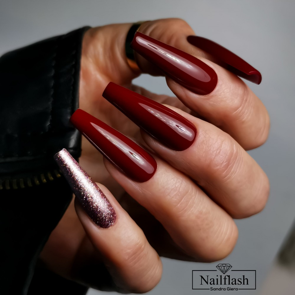 Late Autumn Set - Wine Stain, Madame Glam, Diamond Top Coat