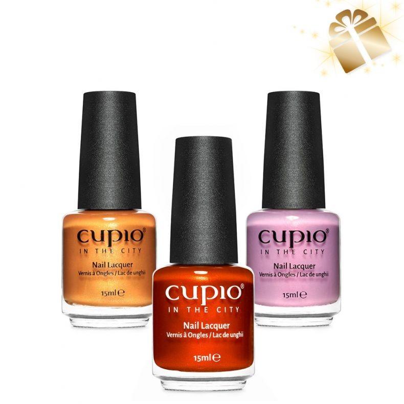 Cupio 3er Nagellack Set Magic City