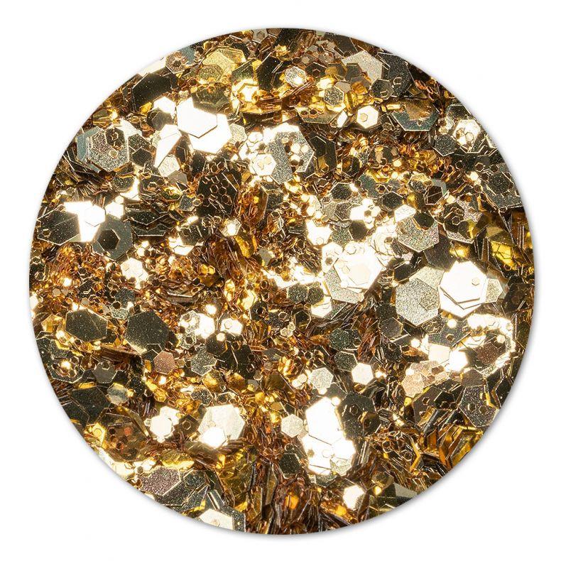 Cupio Pailletten Disco Gold