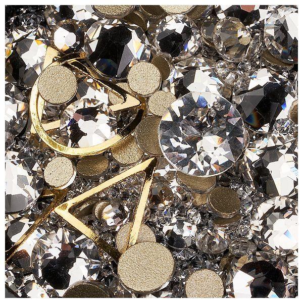 Mix Ornamente, Kaviar, Kristalle und Metallische Formen #04