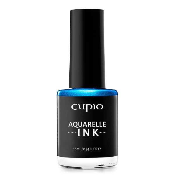 Cupio INK Aquarelle - Metallic Blue