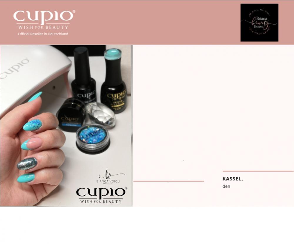 """Seminar """"Cupio Gellack Start"""" (inkl. 2 x Gellack nach Wahl)"""