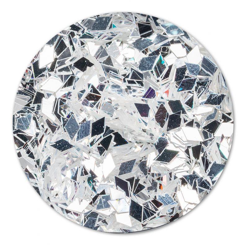 Cupio Pailletten Silver Rock