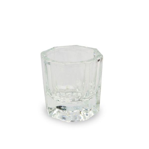 Kleiner Behälter aus Glas